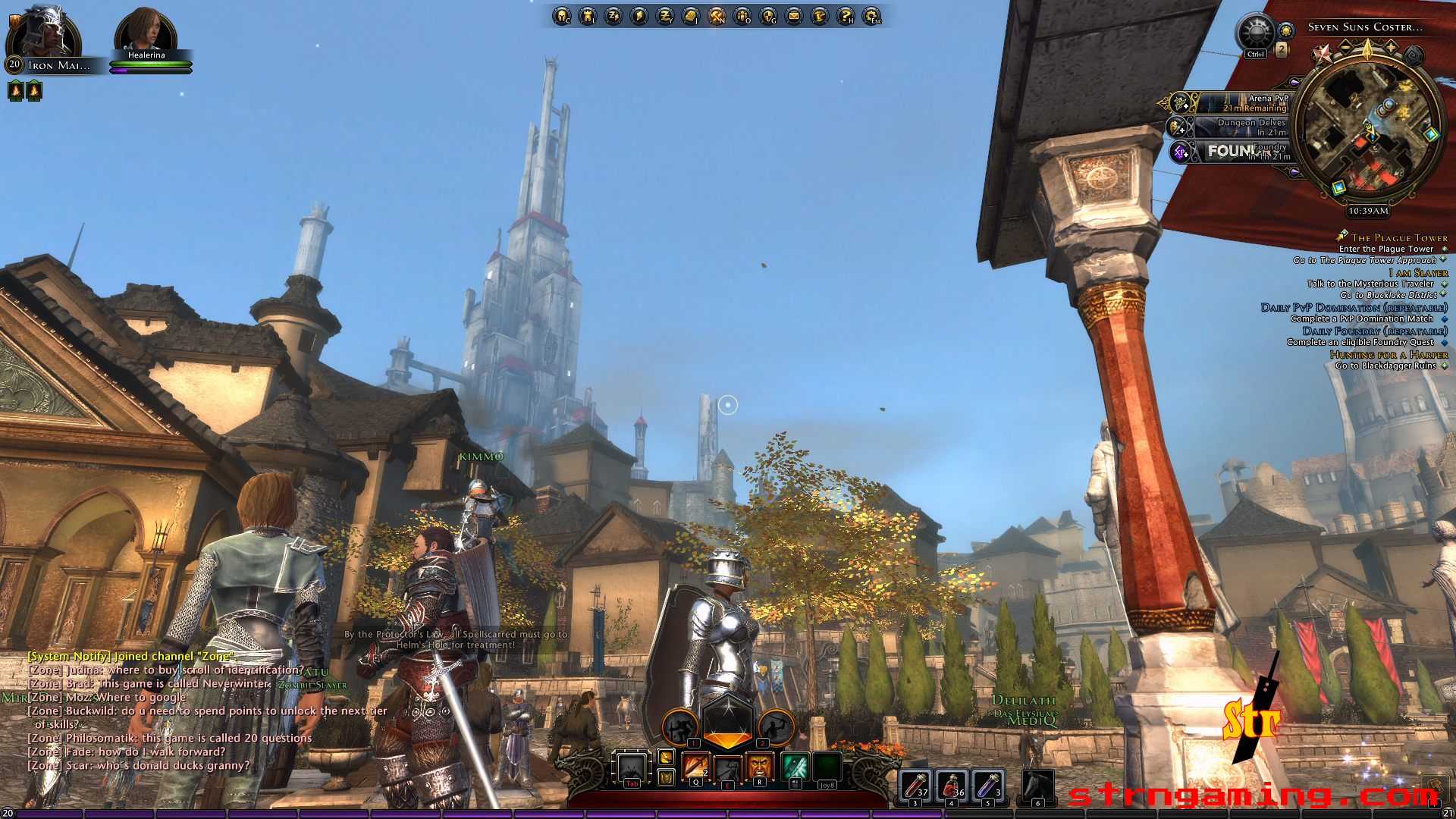 Neverwinter Nights MMO Screenshot | Str N Gaming