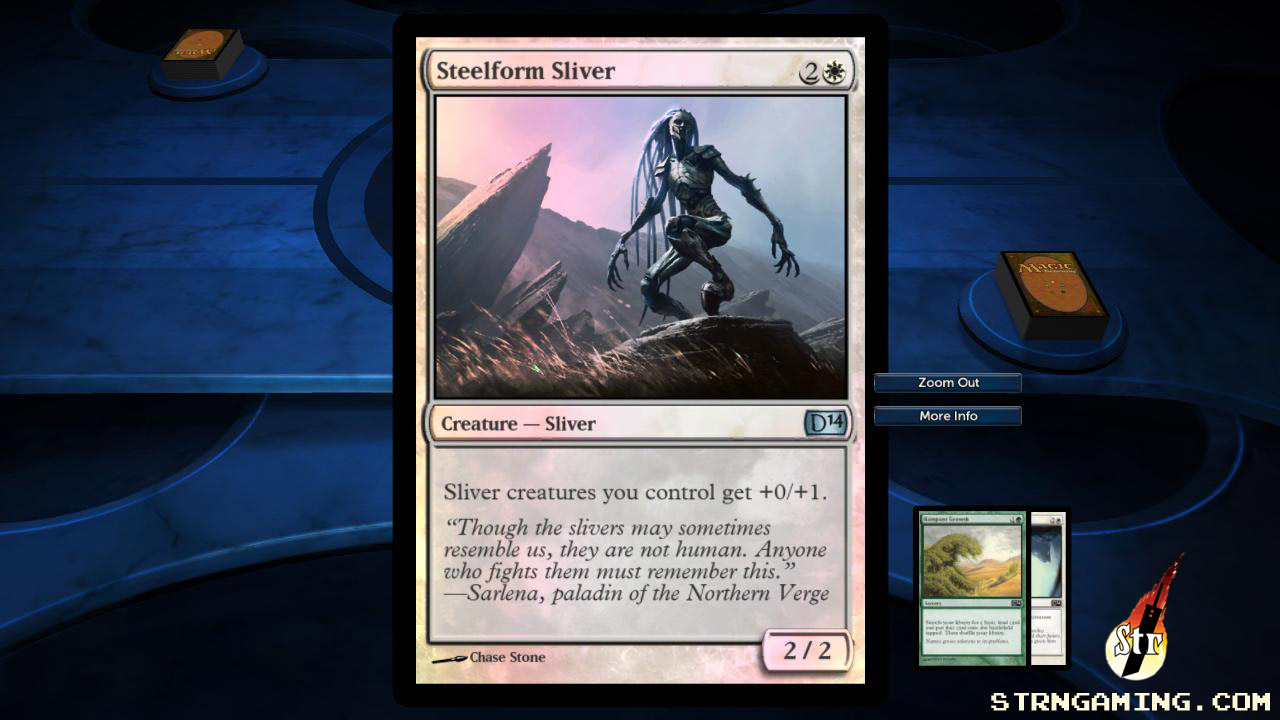 Steel Form Sliver - MTG DotP 2014 | Str N Gaming