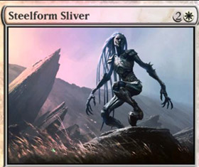 Steel Form Sliver - MTG | Str N Gaming
