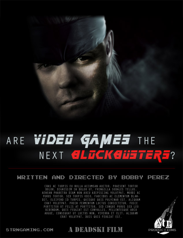 Video Game Blockbuster Poster | Str N Gaming