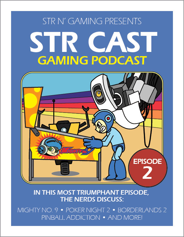 STR CAST Ep 02 Poster | Str N Gaming