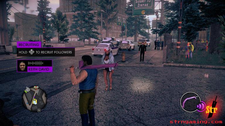 SaintsRowIV Purple Dildo   Str N Gaming