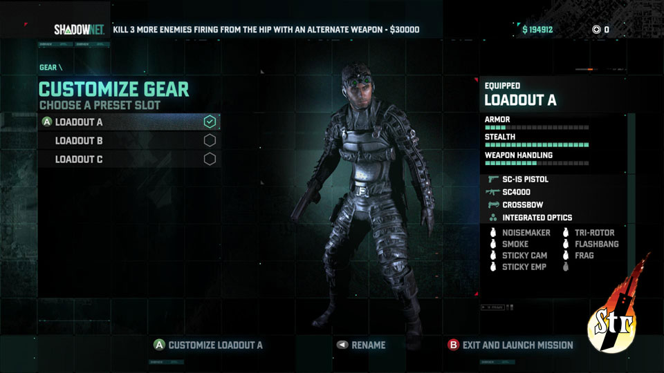 Splinter Cell Blacklist - Str n Gaming