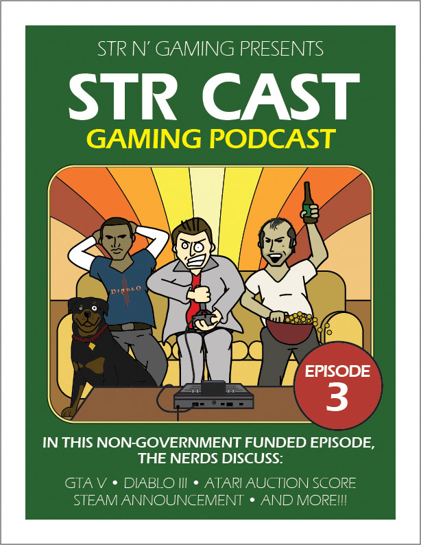 STR CAST - Episode 03 - Grand Theft Diablo VIII