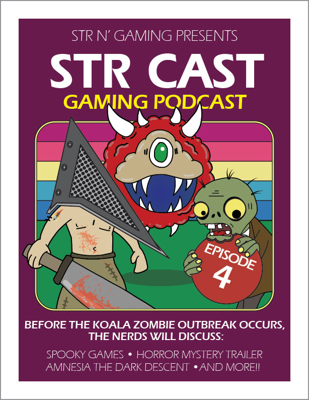 STR CAST Episode 04: Oh The Horror!