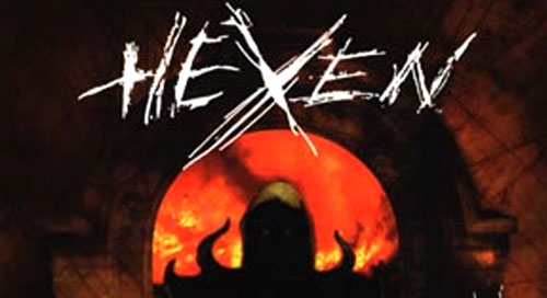"6. Hexen ""Shadow Wood"" (PC) - 1995 Kevin Schilder"