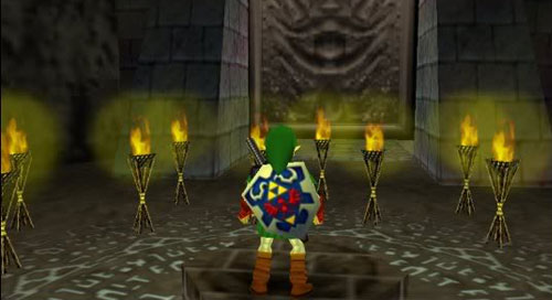 "7. The Legend of Zelda: Ocarina of Time ""Shadow Temple"" (N64) - 1998 Koji Kondo"