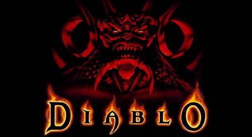 "2. Diablo ""Tristram Town"" (PC) - 1996 Matt Uelmen"