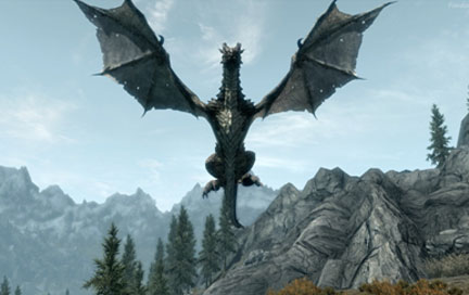 Dragon - Skyrim | Str N Gaming