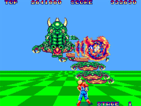 Squilla - Space Harrier | Str N Gaming