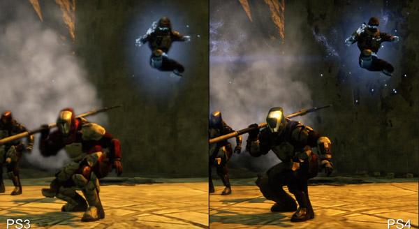 Destiny Beta PS3 vs PS4