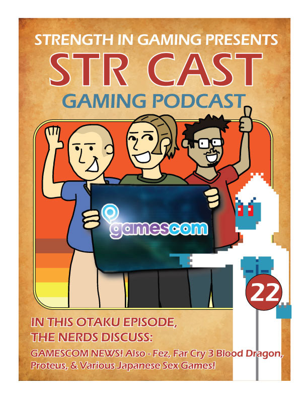 STR CAST EP 22: GAMESCOM 2014