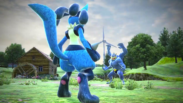 Pokken Tournament Image