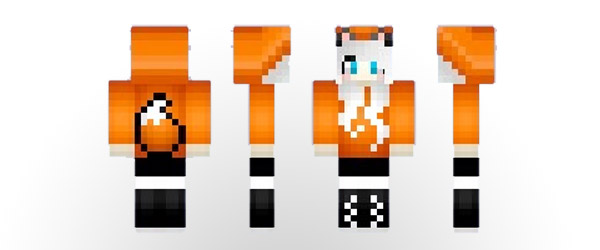 Minecraft Skins For Girl Foxy Fnaf