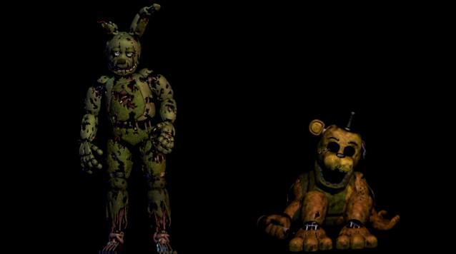 golden springtrap
