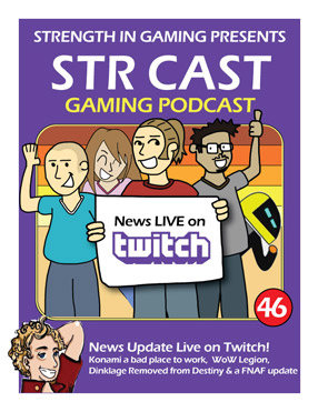 STR CAST 46: NEWS Live on Twitch
