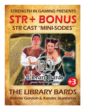 STR +3: Library Bards