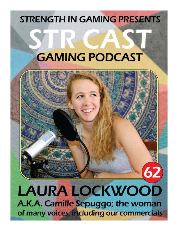 STRCAST 62: Laura Lockwood A.K.A. Camille Sepuggo