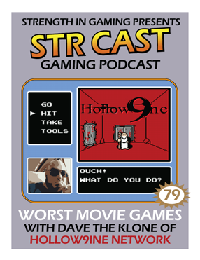 STR CAST 79: Worst Movie Games with Dave the Klone