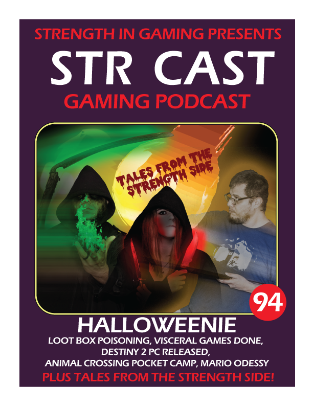 STR CAST 94: HALLOWEENIE (TALES FROM THE STRENGTH SIDE)