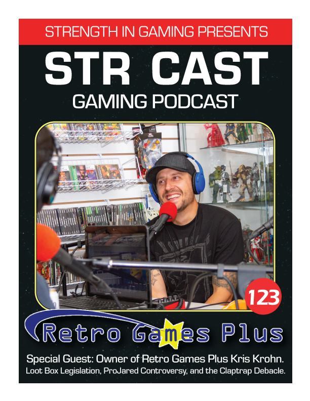 STR CAST 123: Retro Games Plus w/ Kris Krohn