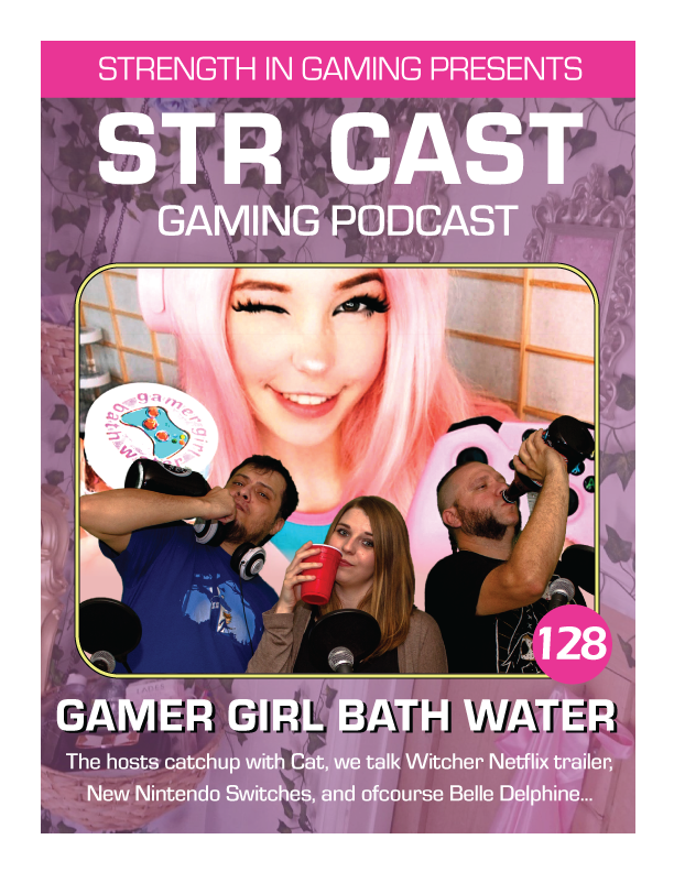 gamer girl bath water